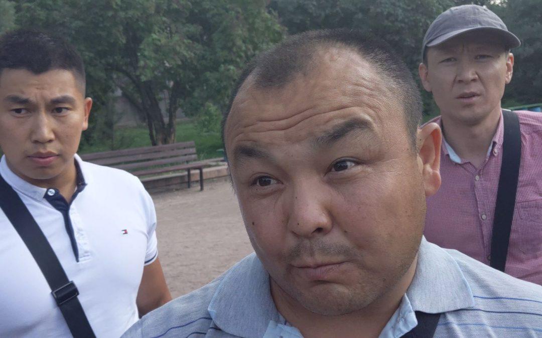 МВД начало внутреннее расследование из-за стычки с журналистом «Клоопа» во время освещения пикета