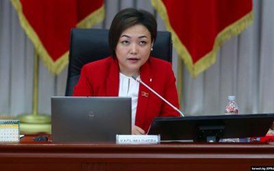 Вице-спикер Аида Касымалиева призвала тщательно расследовать нападение на оператора «Азаттыка»