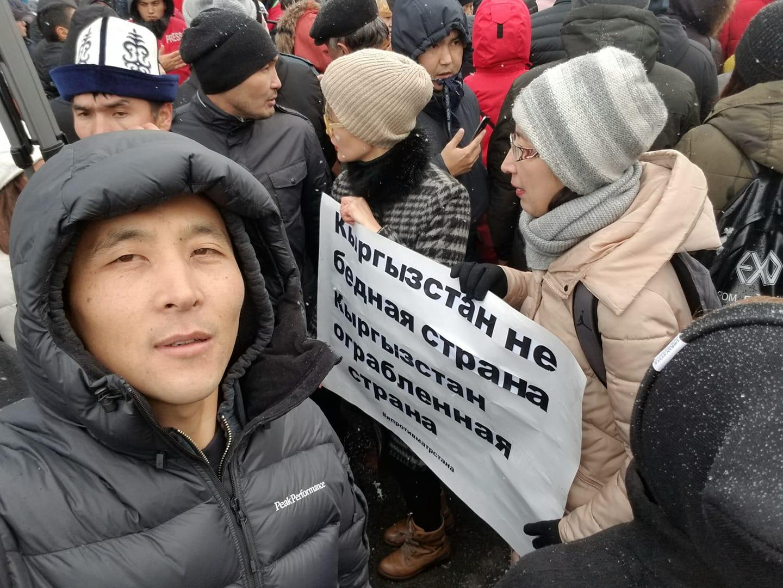 С кыргызстанцем провели «разъяснительную беседу» за перепубликацию иллюстрации про убийство Айеркена Саймаити